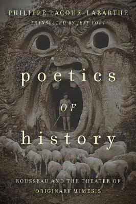 Poetics of History by Philippe Lacoue-Labarthe image