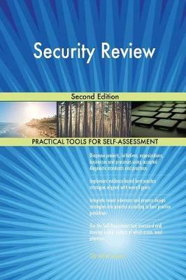 Security Review Second Edition by Gerardus Blokdyk image