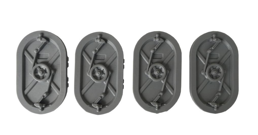 TTCombat: Tabletop Scenics - Door Hatches C image