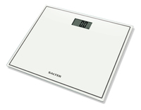 Salter: Compact Glass Electronic Personal Scale - White