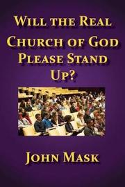 Will the Real Church of God Stand Up? by John Mask image