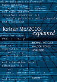 Fortran 95/2003 Explained by Michael Metcalf image