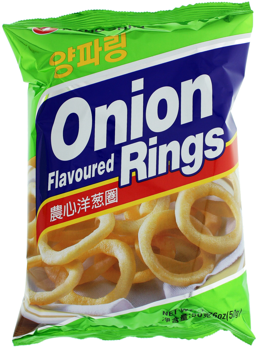 Nong Shim Onion Flavoured Rings 50g - 12 pack image