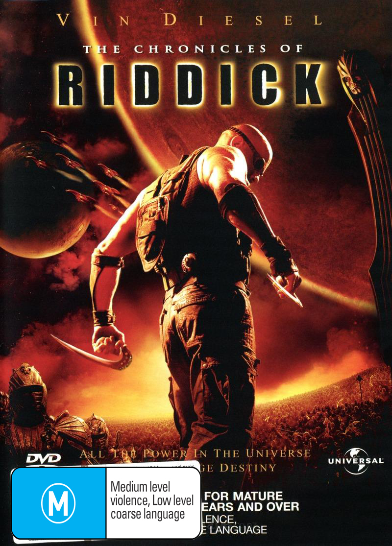 The Chronicles of Riddick on DVD image