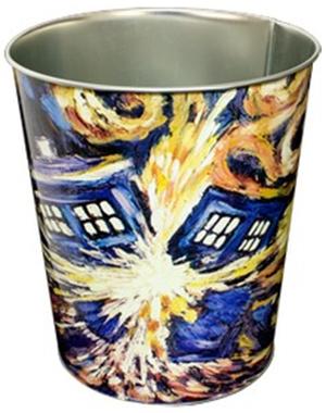 Doctor Who: Exploding TARDIS Metal Bin image