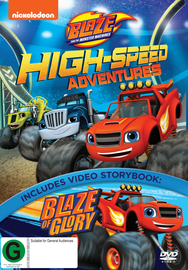 Blaze and The Monster Machines: High-Speed Adventures on DVD image