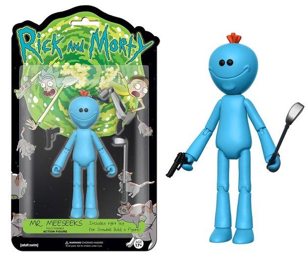 "Rick & Morty – Mr Meeseeks 5"" Action Figure"