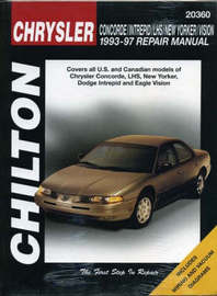 Chrysler Concorde/Intrepid/New Yorker/Lhs/Vision (93 - 97) by Chilton Automotive Books image