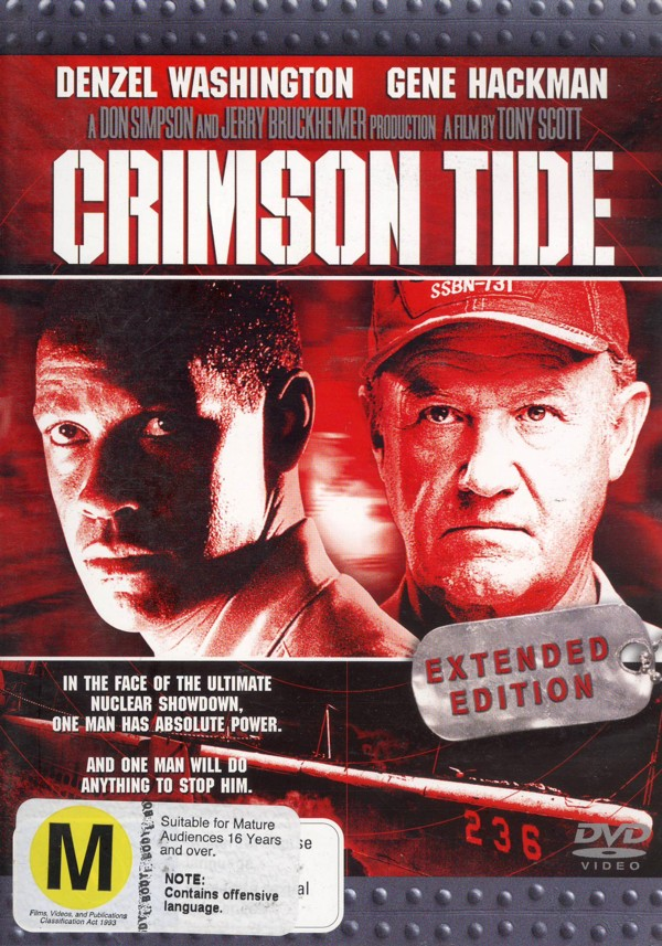 Crimson Tide - Extended Edition on DVD image