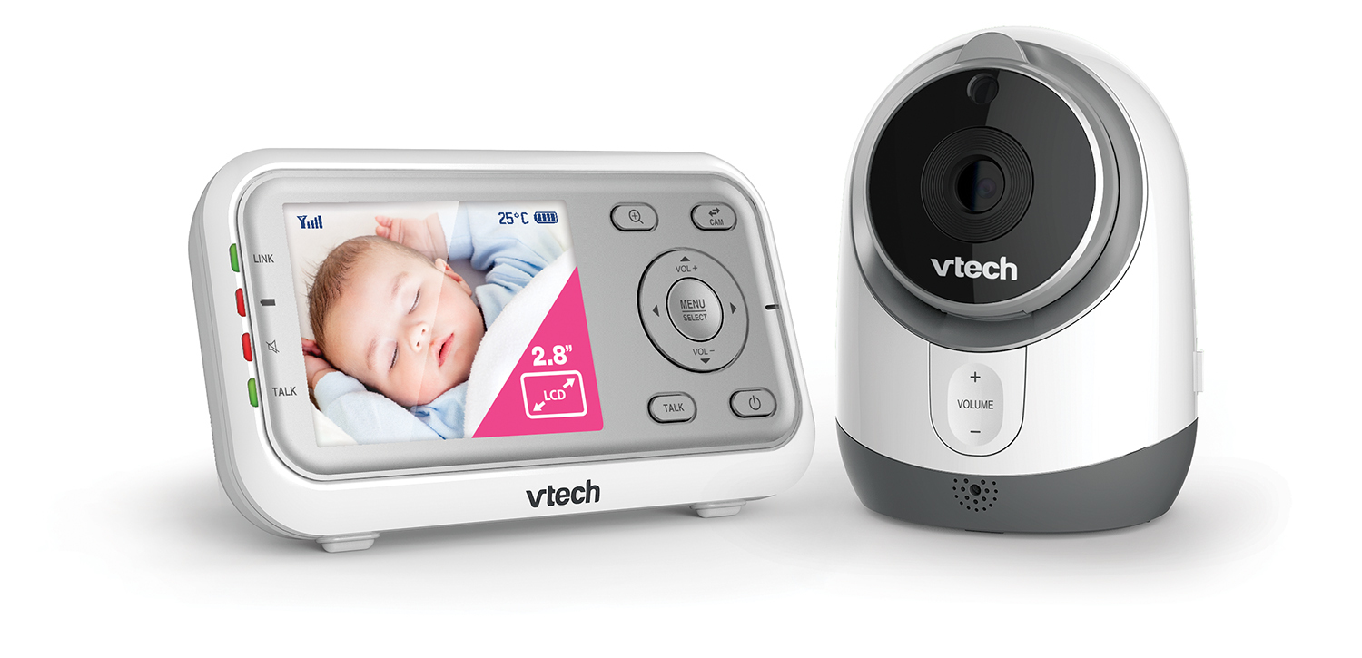 Vtech BM3300 Safe And Sound Full Colour Video And Audio Baby Monitor image