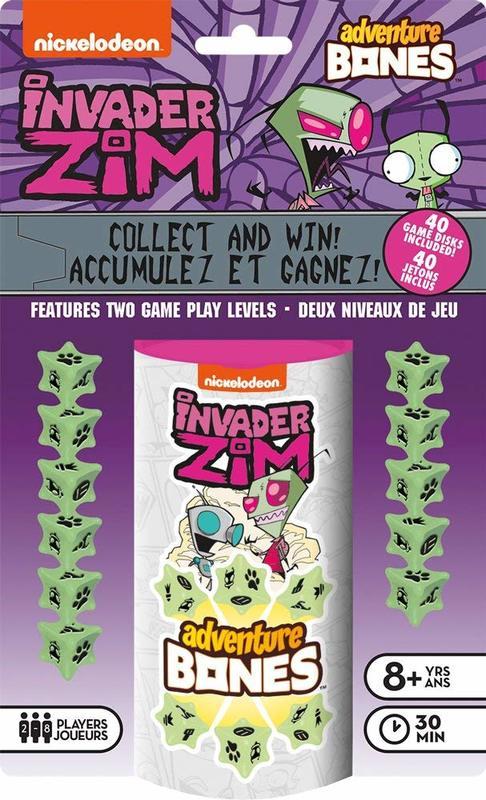 Invader Zim: Adventure Bones - Dice Game
