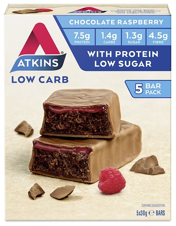 Atkins Advantage Bars - Chocolate Raspberry (Box of 5)
