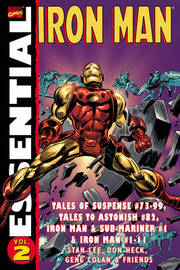 Essential Iron Man - Volume 2 by Stan Lee image