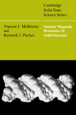 Cambridge Solid State Science Series by Vincent J. McBrierty image