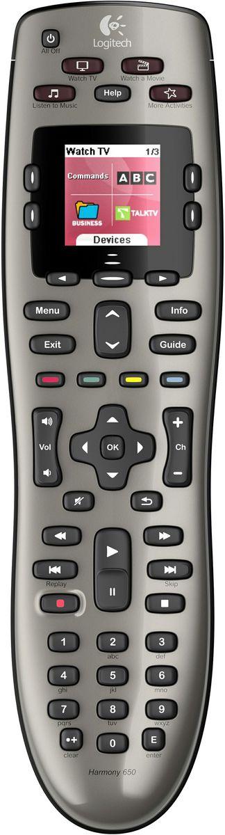 Logitech Harmony 650 Universal Remote image