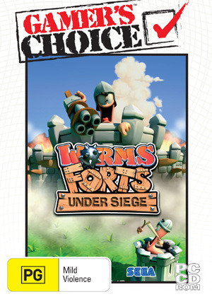 Worms Forts Under Siege (Valusoft) for PC