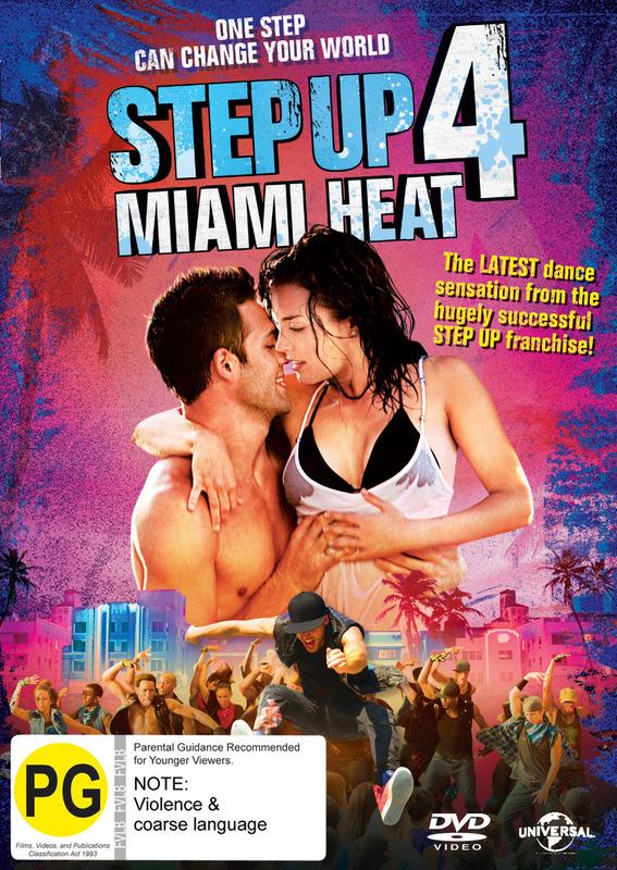 Step Up 4: Miami Heat on DVD