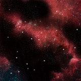 Fiery Nebula Space Game Mat