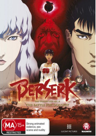 Berserk: The Golden Age Arc II - The Battle for Doldrey on DVD