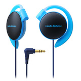 Audio-Technica ATH-EQ500 Ear-Fitting Headphones (Blue)