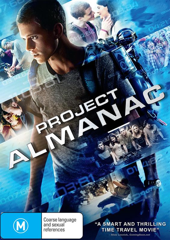 Project Almanac on DVD