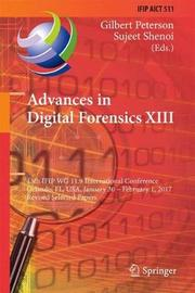 Advances in Digital Forensics XIII image