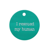 Splosh Dog ID Tag - Rescued Human