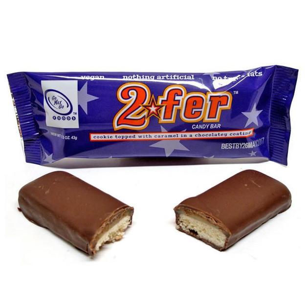 Go Max Go Foods: 2fer Candy Bar 43g