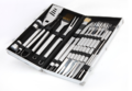 BBQ Grill Tool Set - 24-Piece (With Aluminium Carry Case)