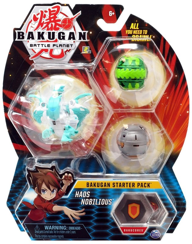 Bakugan: Battle Planet - Starter Pack (Haos Nobilious)