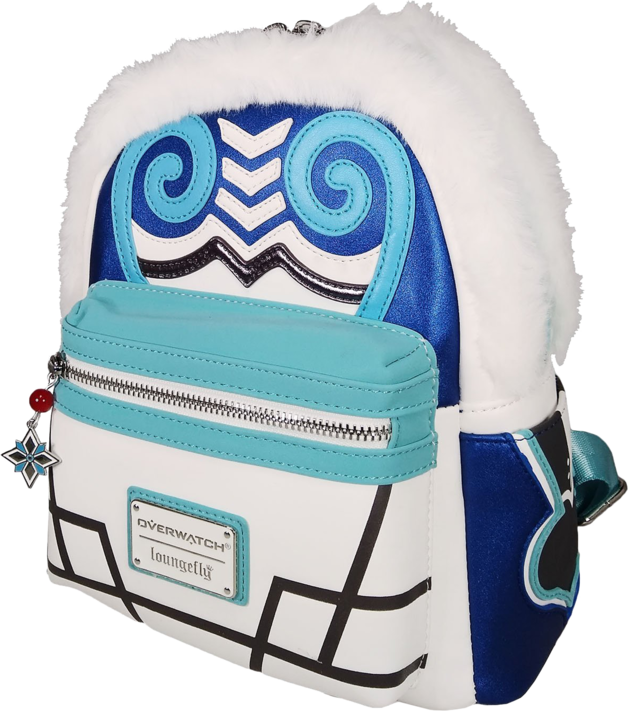 Loungefly: Overwatch - Mei with Faux Fur Mini Backpack