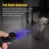 Ultraviolet LED Flashlight (Stain Detector)