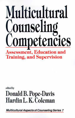 Multicultural Counseling Competencies by Donald B. Pope-Davis image
