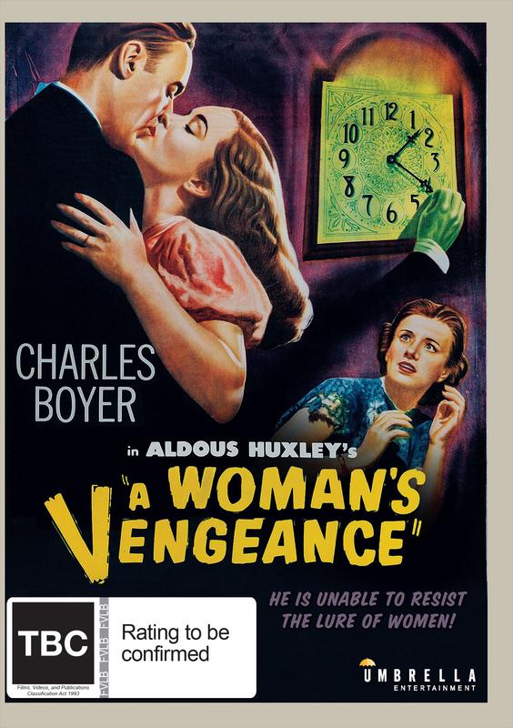 A Woman's Vengeance on DVD