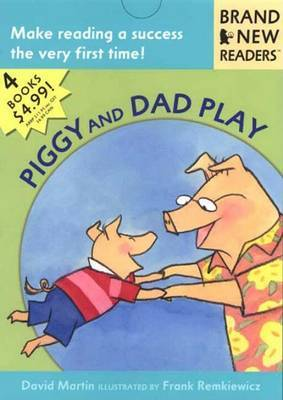 Piggy And Dad Play by David Martin image