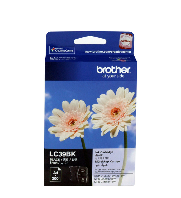 Brother LC-39BK Ink Cartridge (Black)