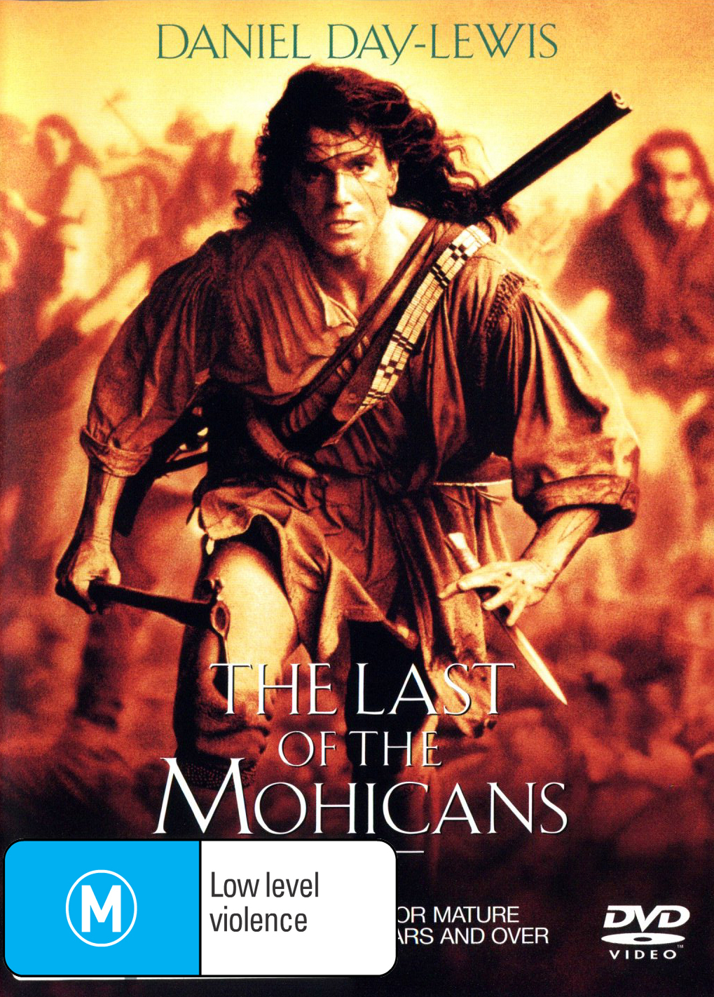 The Last of the Mohicans on DVD image