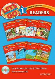 Let's Go: Level 1: Readers Pack with CD by Barbara Hoskins image