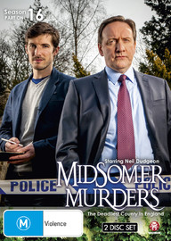 Midsomer Murders - Season 16 Part 1 on DVD