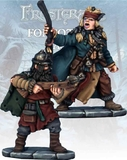 Frostgrave Barbarian Apothecary & Marksman