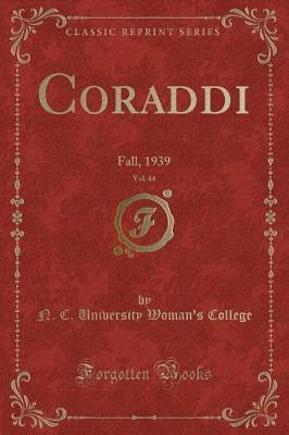 Coraddi, Vol. 44 by N C University Woman's College image