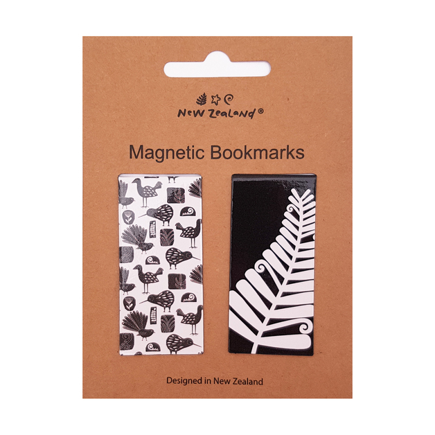 NZ Magnetic Bookmark - NZ Birds (2pc)