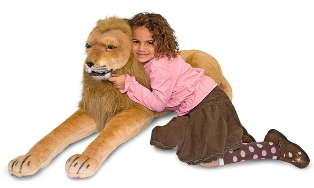 Melissa & Doug: Lion Giant Stuffed Animal Plush