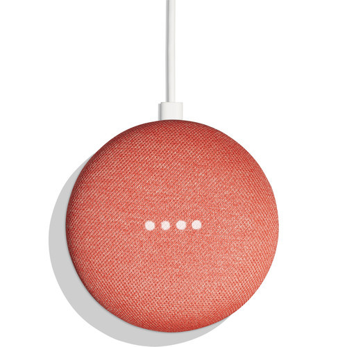 Google Home Mini Smart Speaker with Google Assistant - Coral