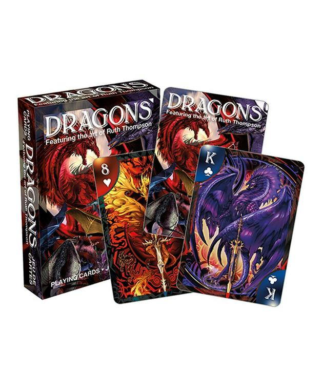 Ruth Thompson – Dragons Playing Cards