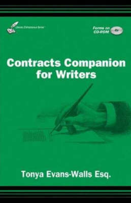 Contracts Companion for Writers by Tonya Evans-Walls image