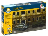 Italeri: 1/72 T-34/85 Russian Tank - Fast Assembly Kit