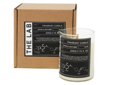 42ff8dcaf705 Walter Glass Beaker Candle - Spice   Leather