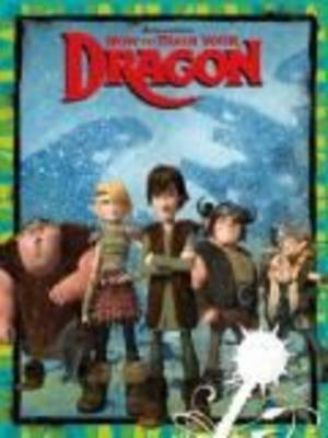 How to Train Your Dragon Deluxe Colouring Book
