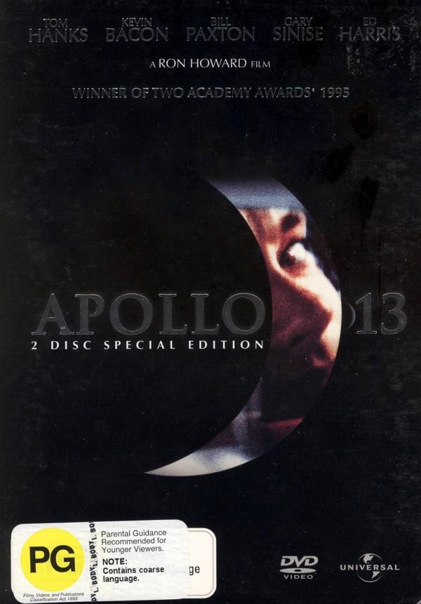 Apollo 13 - Special Edition (2 Disc Set) on DVD image